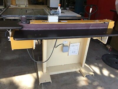 Ritter Edge Sander With End Station , Dual Sided