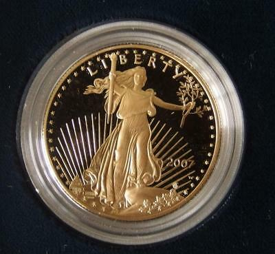 2007 - W $50 AMERICAN EAGLE 1 OZ GOLD PROOF COIN Lot 249