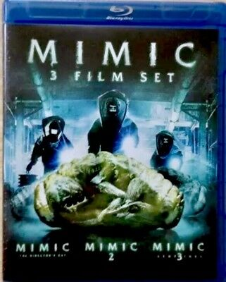 MIMIC 1 2 3 Blu-ray All 3 Film Movie Collection BRAND NEW Sealed Mira Sorvino
