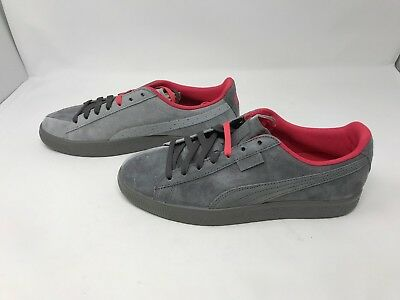 new concept 1deef 524b0 MENS PUMA (363674-02) X Staple Clyde High Rise Glacier Gray Sneakers (Z6 &  H9)