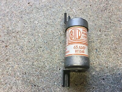 TIS 63 Off Set Bolted Tag BS88 Fuse 63 Amp Bill Quantity 2