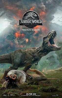 Jurassic World Fallen Kingdom Movie Poster Print A0-A1-A2-A3-A4-A5-A6-MAXI 724