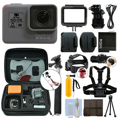GoPro HERO5 Black Waterproof 4K Camera Camcorder + Ultimate Action Bundle