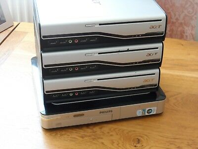3 Acer Veriton L410 PC & Philips LX2000 HTPC - ALL WORKING - FREE P&P