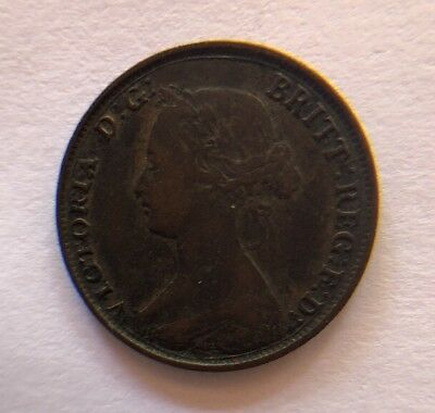 "Great Britain 1861 1/2 Cent "" Victoria D.g. Britt: Reg: F: D"" Nice!"
