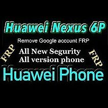 REMOVE GOOGLE ACCOUNT Huawei Nexus 6P/ Frp google huiawei nexus 6p