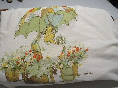 Vintage Holly Hobby  Pillow Case from the 1980's.