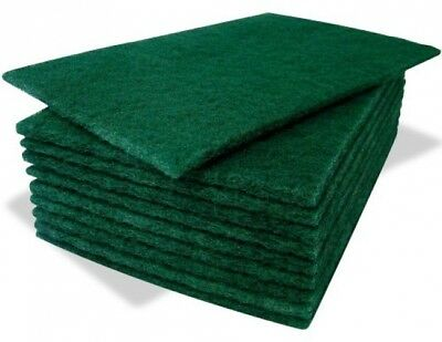 Sponge Cleaning Kitchen Pads Green 10
