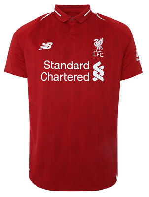 2018-19 Mens  Liverpool FC New Balance home Jersey S-2XL