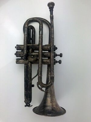 Antique 1914 ~ 1915 BUESCHER Cornet Elkhart Indiana Collectible Trumpet