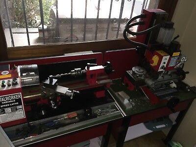 SIEG SC3/400 Lathe and SX2LF Mill and accessories
