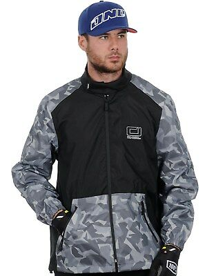 chaqueta impermeable MX ONeal 2018 Shore II Negro-gris