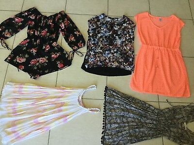 ~ 9 x Ladies Size 12-14 Clothing - Ice, RVCV, Jeans west & more! ~