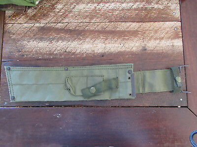 Original Australian Machete Sheat Vietnam Era Machete Golok Bolo