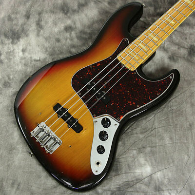 Fender Jazz Bass 1973 Vintage Sunburst Electric Bass