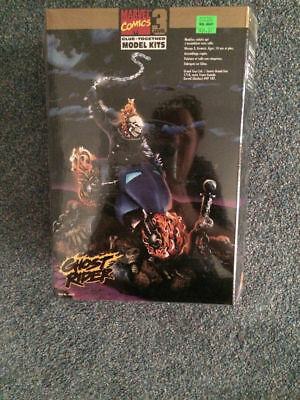 Marvel Comics Glue Together Model level 3 GHOST RIDER New and Sealed