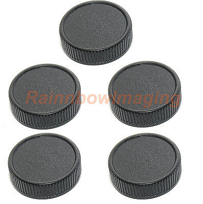 5 pcs x Lens Rear Cap for M42 42mm Screw Mount Lens Pentax Takumar Helios