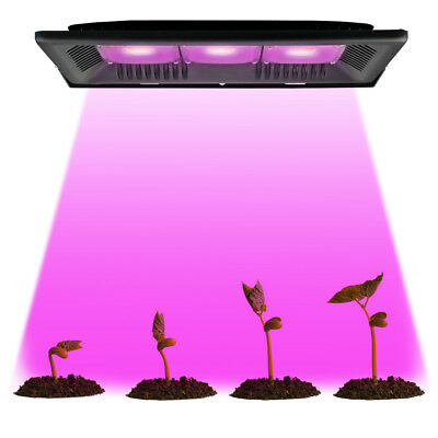 300W COB Full Spectrum LED Grow light Outdoor Veg Flower Hydroponic Plant Lamp