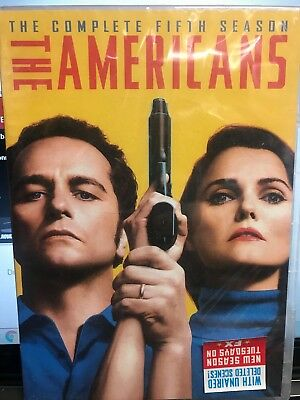 The Americans Season 5 DVD  US SELLER BRAND NEW