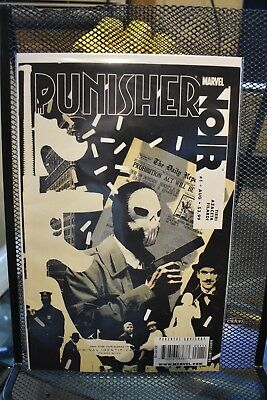 Punisher Noir #1 Marvel Comics 1st Print Frank Tieri Paul Azaceta