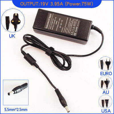 Ac Power Adapter Charger for Toshiba Satellite L650D-10F L650D-120 Laptop