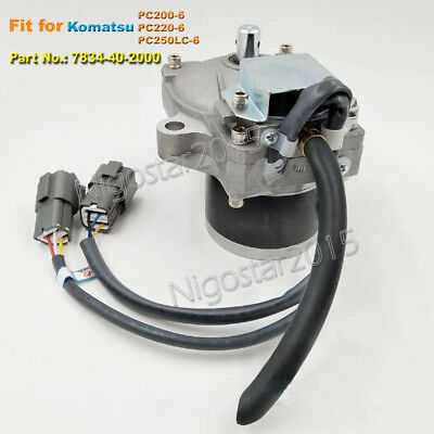 Throttle Motor Governor 7834-40-2000 Fit for Komatsu PC250LC-6 PC200-6 PC220-6