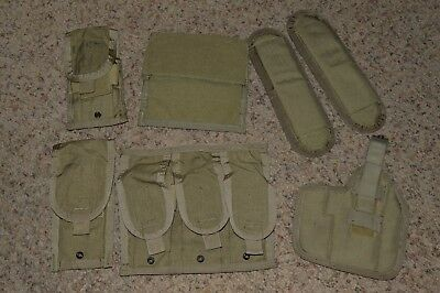 LOT 6x Eagle Allied Industries MBSS Plate Carrier Vest MOLLE Pouch MLCS DEVGRU