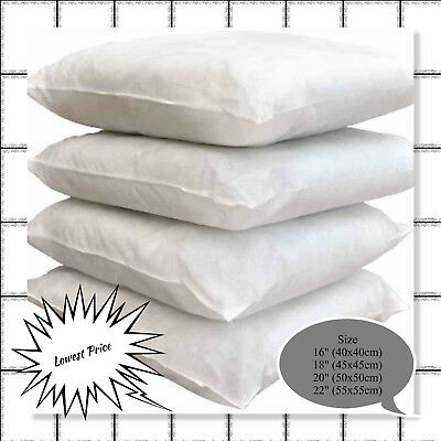 Hotel Quality Duck Feather& Down Cushion Pads,Inserts,Inners, 16,18,20,22,24""