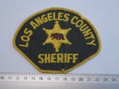 old Los Angeles County Sheriff patch California USA Polizei Abzeichen