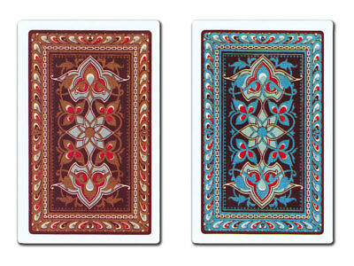 ORO 100% Plastic Playing Cards 2 Pack - INDIVIDUAL TAPESTRY - FREE SHIPPING