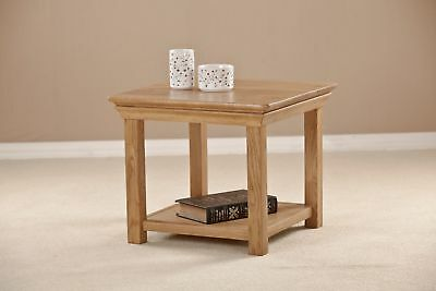 Marseille Solid Oak Living Room Furniture Small Coffee Table