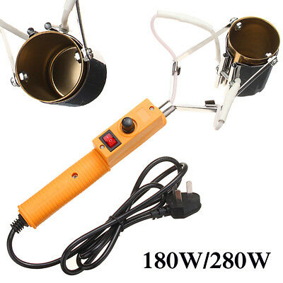 180W/280W Electric Portable Melt Solder Furnace Pot For Casting Heads Lead Tin