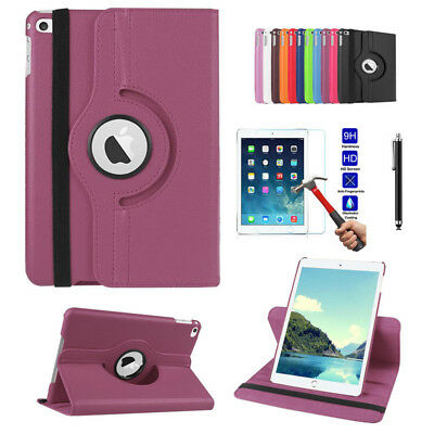 360 Rotate PU Leather Stand Case Cover Shockproof Protective For iPad 2 3 4 9.7