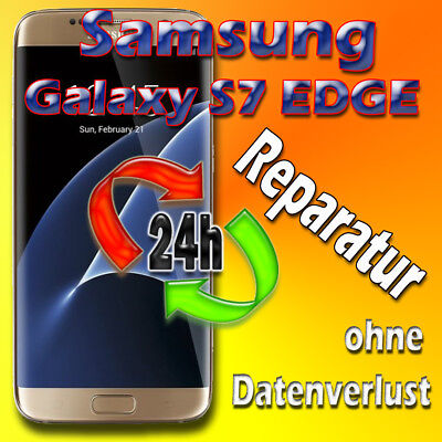 Samsung Galaxy S7 EDGE SM-G935F Display Reparatur Frontglas Austausch