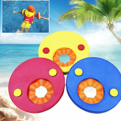 4 / 6pcs Baby Kids Colorful Float Discs Learn to Swim Arm Band Set