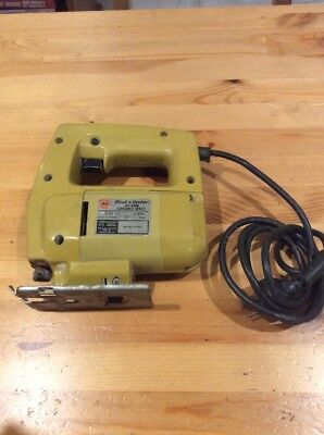 Black And Decker Jigsaw; Jig Saw; Made In USA; Works Well