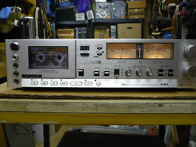 Aiwa AD-6700K Stereo Cassette Deck with Dual Meter (VGC, Just Serviced)