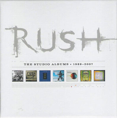 Rush - The Studio Albums 1989-2007 New CD