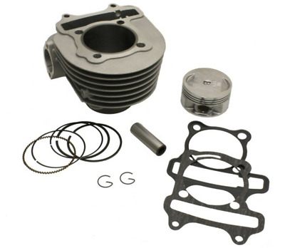 SSP-G 61MM BIG BORE DROP IN CYLINDER KIT for GY6 125cc - 150cc to 171cc bigbore