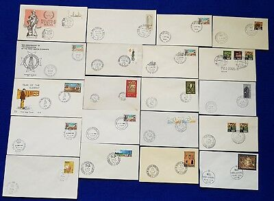 Malta Special Hand Stamp Cancellations SHC on 20 Covers Different Events.