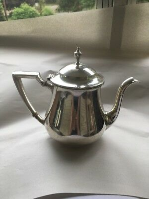 Anqiue Wallace Sterling silver coffee pot w/ivory insulators -early 20th century