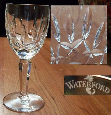 Beautiful Waterford Kildare White Wine Glass  Excellent   Multiples Available
