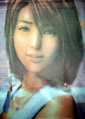 Cloth Poster Final Fantasy X FF10 #2 Yuna