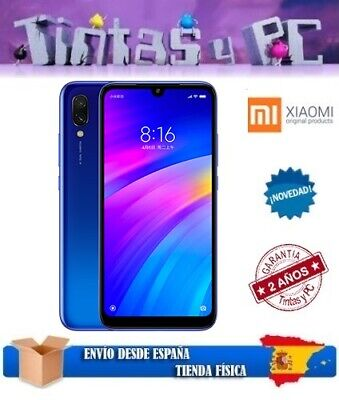 Xiaomi Redmi 7 32Gb Azul. 3Gb Ram. Snapdragon 632. ¡Version Global En Español!