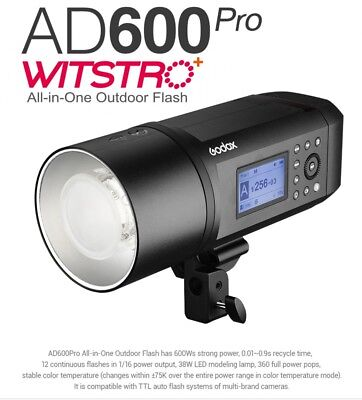 Godox WITSTRO AD600Pro All-in-One Akku Studioblitz 600Ws