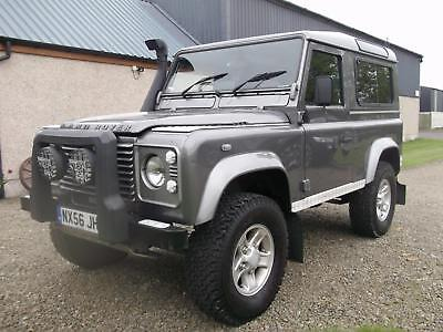 Land Rover Defender 90 county.2006. Storry 4x4
