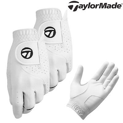 TAYLORMADE STRATUS TECH LEATHER GOLF GLOVES TWIN PACK LH - Right Handed Golfer