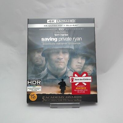 Saving Private Ryan (2018, Blu-ray) Slip Case Edition / 4K UHD + 2D