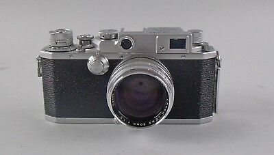 Canon EP Rangefinder Camera 223663 with Canon 1.5/50mm Lens