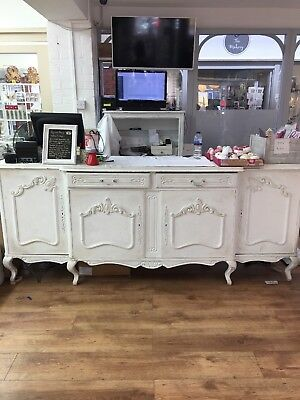 Counter Till Unit Side Board Shabby Chic French Retail